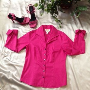 Talbots Pink Blouse